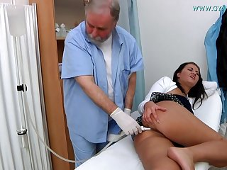 Doctor Checks Her Cunt - curative fetish