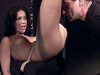The Fetish Shop Story. Part 2. Thieves Deserves Cruel Punishment. Original Bdsm Movie