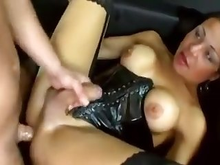 tranny female-dom acquires immodest With guy. astonishing ball batter flow And more fucking!!
