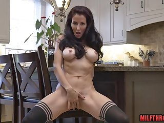 Horny mature woman solo