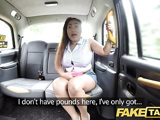 Fake Taxi Thai masseuse with big tits works her magic