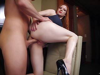 Horny Boss Makes Employee Eat ASS then Fucks him. FULL VIDEO