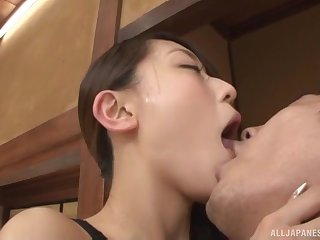 Japanese hardcore couple sex with Kashii Ria in high heels