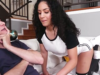 Turn over in one's mind catching chick Liv Revamped gives the best ever blowjob to her boyfriend