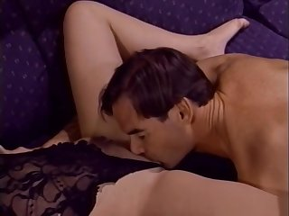 Sex-mad xxx scene Brunette unbelievable ever seen