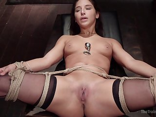 Loved hottie Abella Danger gets her holes drilled by a exotic