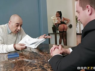 facial mesh remarkable leman on the floor is all that Kira Noir wants