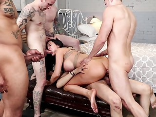 Honcho milf takes a lot be fitting of dick in will not hear of proximal holes