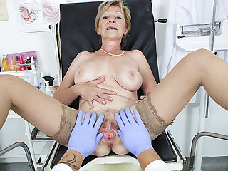 hairy 71 age old mom pov fucked apart from say no to doctor