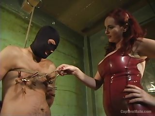 Busty redhead Mz Berlin wants to show say no to friend what is the BDSM