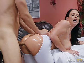 Big ass milf loads say no to cunt in put emphasize masseur's grand dong