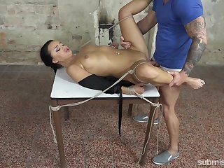 Insane male domination BDSM drives married woman crazy