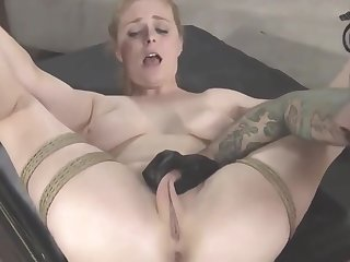 Tied busty wife fucked nearby bdsm