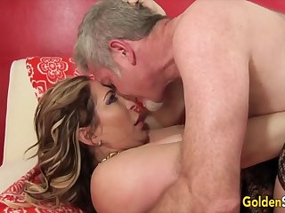 Golden Floosie - Pounding Older Pussies Compilation Part 2