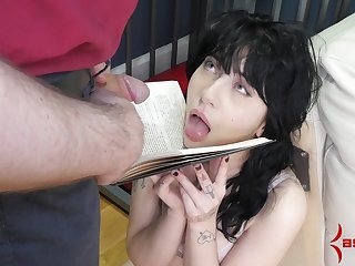 Caged amateur forced fucked coupled with made to swallow