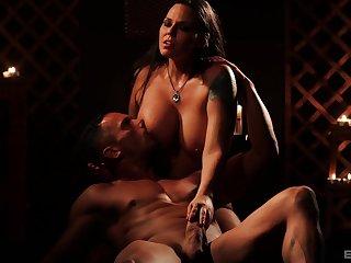 Pornstar Simony Diamond here massive fake tits having an X sex