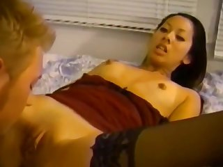 Pretty Asian Teen forth Lingerie Likes Nipples Sucked