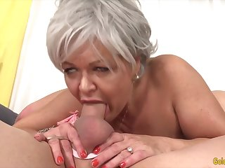 Sexy and hot old women taking fast dicks in their mouth and give awesome blowjobs