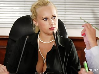 Steamy office fuck with Stacy Cruz and that girl is piping hot hot